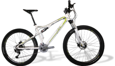 e-full suspension mountainbike 29